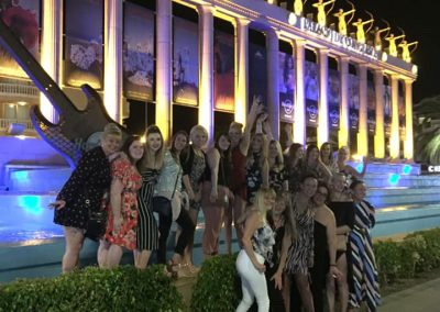 Hen Party with Celebrity International Tour