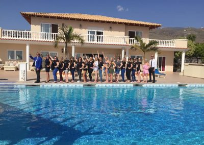 Hen party with Celebrity International