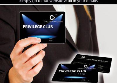 Privilege Club Card